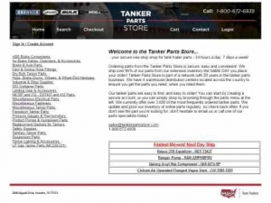 Tanker Parts Store