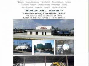 Tank Wash 36 - Decon LLC