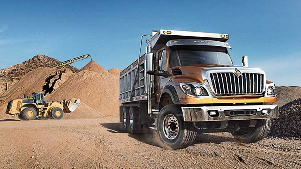 International HV Series Dump Truck