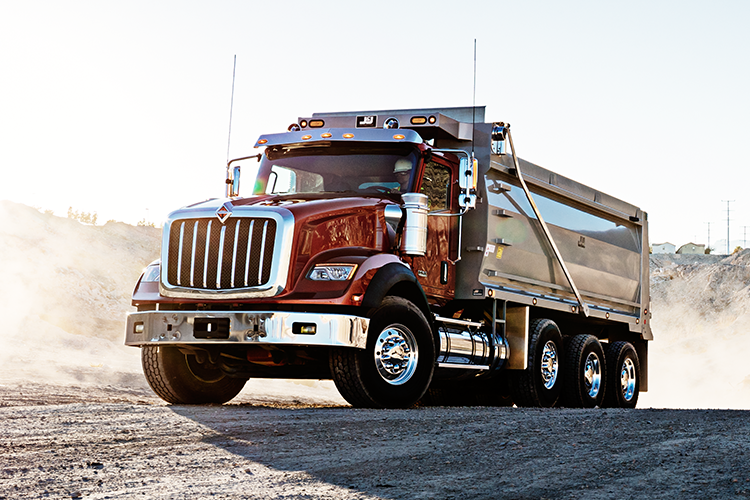International HX Series Dump Truck