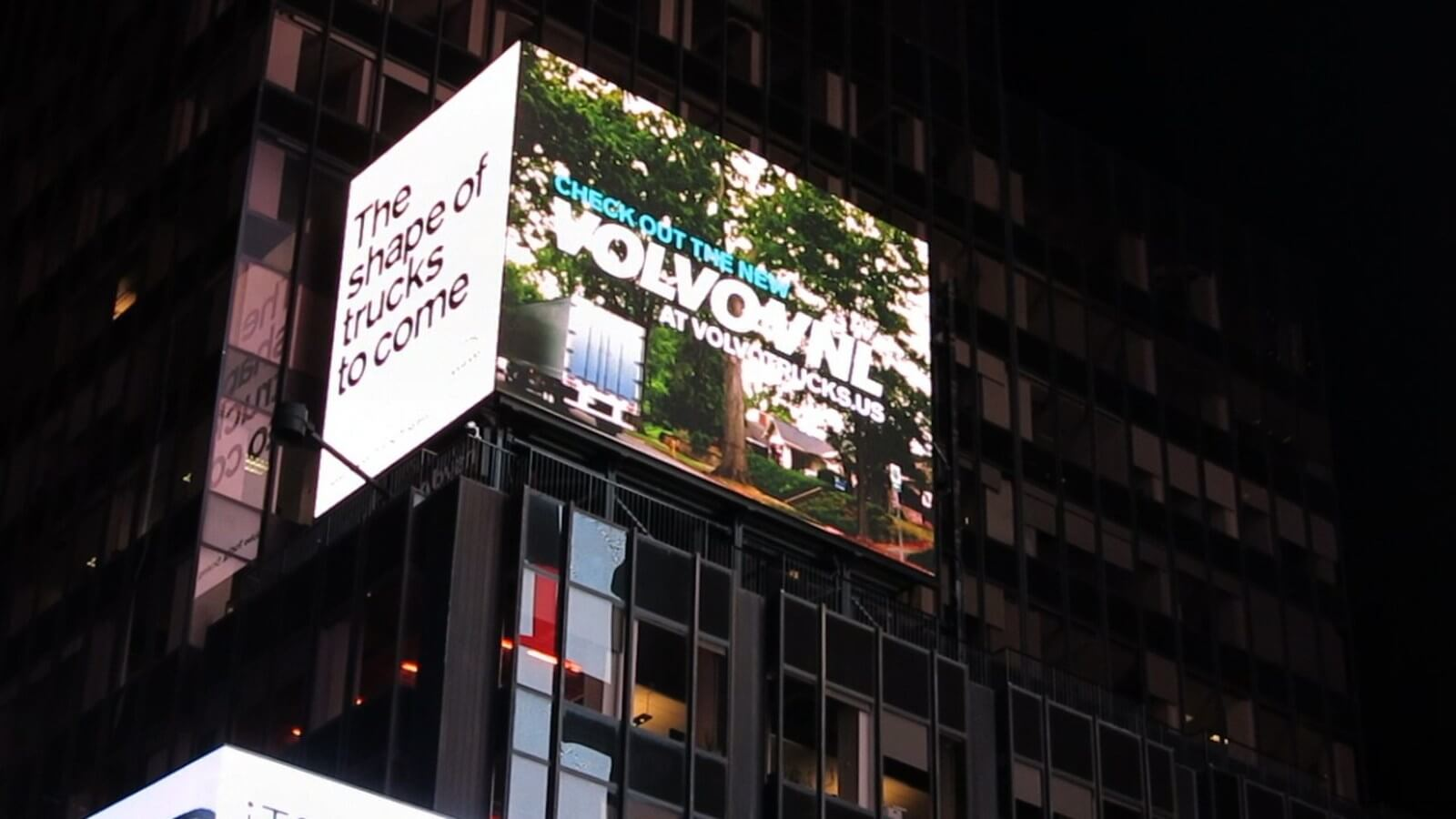 Volvo Trucks North America Times Square 2